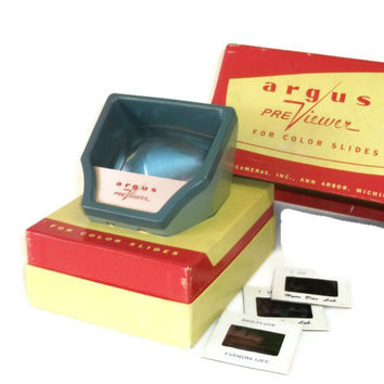 Vintage Argus Pre Viewer for Color Slides, Photography Related Equipment