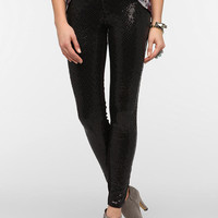 BLANKNYC Sequin Twill Skinny Pant