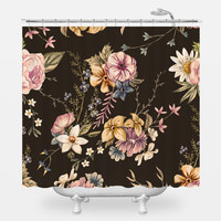 Victorian Flora Shower Curtain
