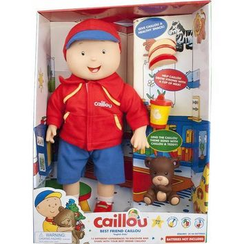 Best Friend Caillou Interactive Talking Doll