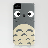 Dubiously Totoro ~ My Neighbor Totoro iPhone & iPod Case by Canis Picta | Society6