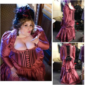 Victorian Corset Gothic/Civil War Southern Belle Ball Gown Dress Cosplay CUSTOM MADE
