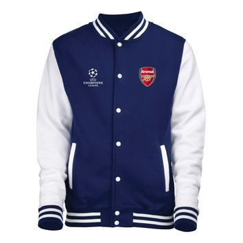 Champions League Varsity Jacket at Arsenal Direct