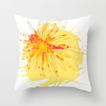 t_7 Throw Pillow by Kristina Kerstner