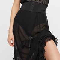 Free People Corset Is, Maxi Slip