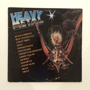 Heavy Metal - Music From The Motion Picture (Double Album)  1981 vinyl record album LP
