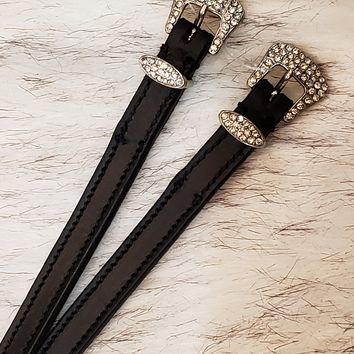 Bling Buckle Spur Straps