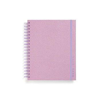 BAN.DO LARGE 17-MONTH ACADEMIC PLANNER - LILAC GLITTER