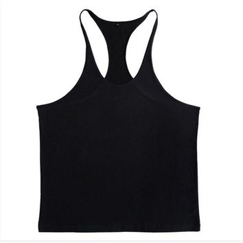 Running Vests Jogging 7 Colors M-XXL Men gyms Tank Top Bodybuilding Sleeveless Shirts Men's Gyms Vest Top Summer Men Running Outdoor Vest 30 KO_11_1