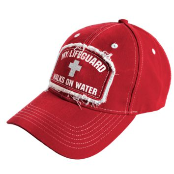 Christian Hat - My Lifeguard Walks on Water