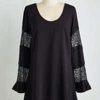 Short Length Long Sleeve Grace the Facts Dress