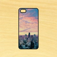 City Sunset Clouds Phone Case iPhone 4 / 4s / 5 / 5s / 5c /6 / 6s /6+ Apple Samsung Galaxy S3 / S4 / S5 / S6