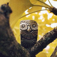 Owl Vintage Spoon Ring