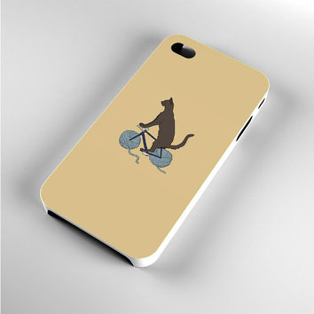 Chewbacca Biking Star Wars Cats iPhone 4s Case