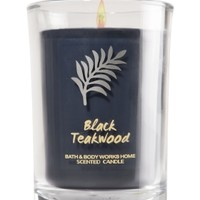 Medium Candle Black Teakwood