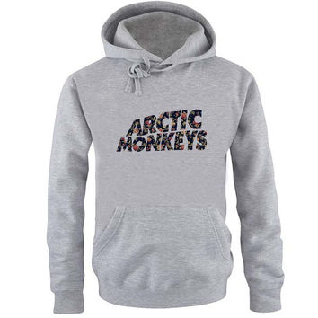 arctic monkeys Hoodie Sweatshirt Sweater Shirt Gray and beauty variant color for Unisex size