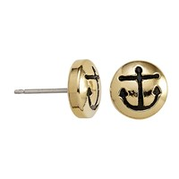 Anchor Sacred Studs Post Earrings