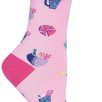 Tropical Drink Women's Crew Socks