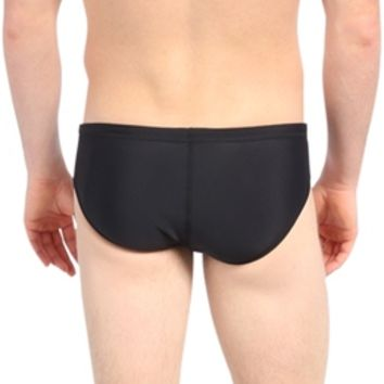 Nike Swim Nylon Core Solids Brief at SwimOutlet.com