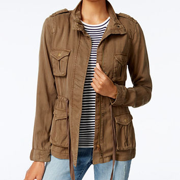 Maison Jules Cargo Jacket, Created for Macy's - Jackets - Women - Macy's