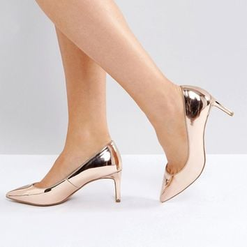 ASOS SOULFUL Wide Fit Pointed Heels at asos.com