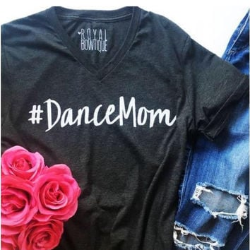 #DanceMom Fitted Tee