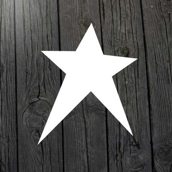 Primitive star stencil Primitive star paint stencil Primitive paint stencil Painting stencil Star wall decor Primitive decor Decoration