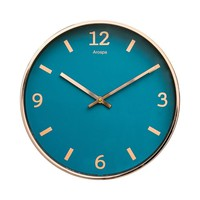 "12"" Blue Shore Wall Clock"