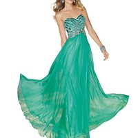 Strapless A-Line Prom and Party Dress 6193