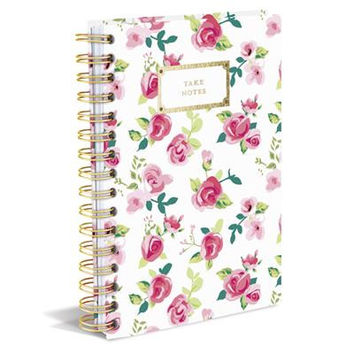 Take Notes Pretty Floral Hard Bound Journal