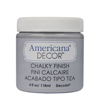 ConsumerCrafts Product Americana® Decor™ Chalky Paint: Yesteryear Gray Chalk Paint