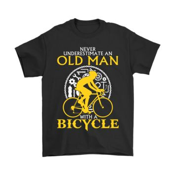 ESB8HB Never Underestimate An Old Man With A Bicycle Shirts