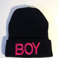 London boy fashion beanie