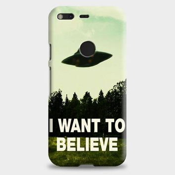 I Want To Believe Ufo Aliens Google Pixel 2 Case