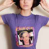 Vintage Culture Club Tee / 80s / Boy George