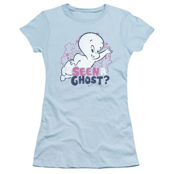 Casper - Seen A Ghost Short Sleeve Junior Sheer