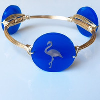 *Flamingo Bangle