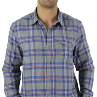 Alpinestars Vint Men's Flannel Plaid Shirt Long Sleeve