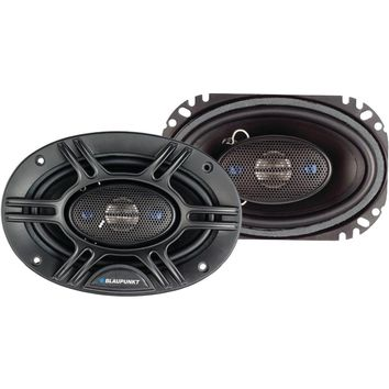 "Blaupunkt 4-way Coaxial Speakers (gtx406 4"" X 6"" 240 Watts)"