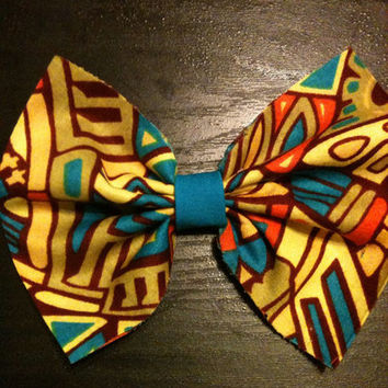 African/Ethnic Hair Bows from Nicole Ray