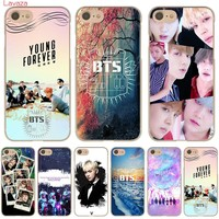 Lavaza BTS Hard Phone Case for Apple iPhone X 10 8 7 6 6s Plus 5 5S SE 5C 4 4S Cover Coque Shell