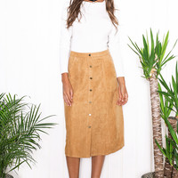 Big Suede A Skirts