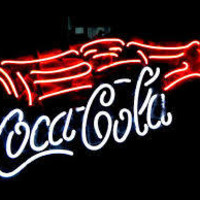 coca cola neon light sign - Google Search