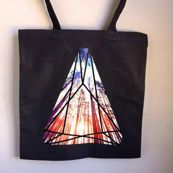 Forest Crystal Tote Bag