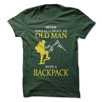Old Man With A Backpack