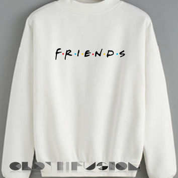 Womens Sweater Sale Friends Logo Outfit Of The Day - OOTD