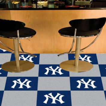 New York Yankees Team Carpet Tiles