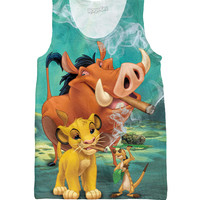 The Lion Kush Tank Top