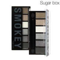 Sugar Box 6 Colors Eyeshadow Palette glamorous smoky eye Shadow makeup kit Drop shipping