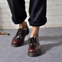 On Sale Casual Hot Sale Formal Hot Deal Stylish Comfort Shoes Punk Sneakers Vintage Leather Strong Character England Style Brogues [6050201345]